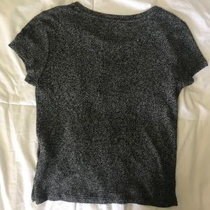 American Eagle Outfitters short sleeve crop top